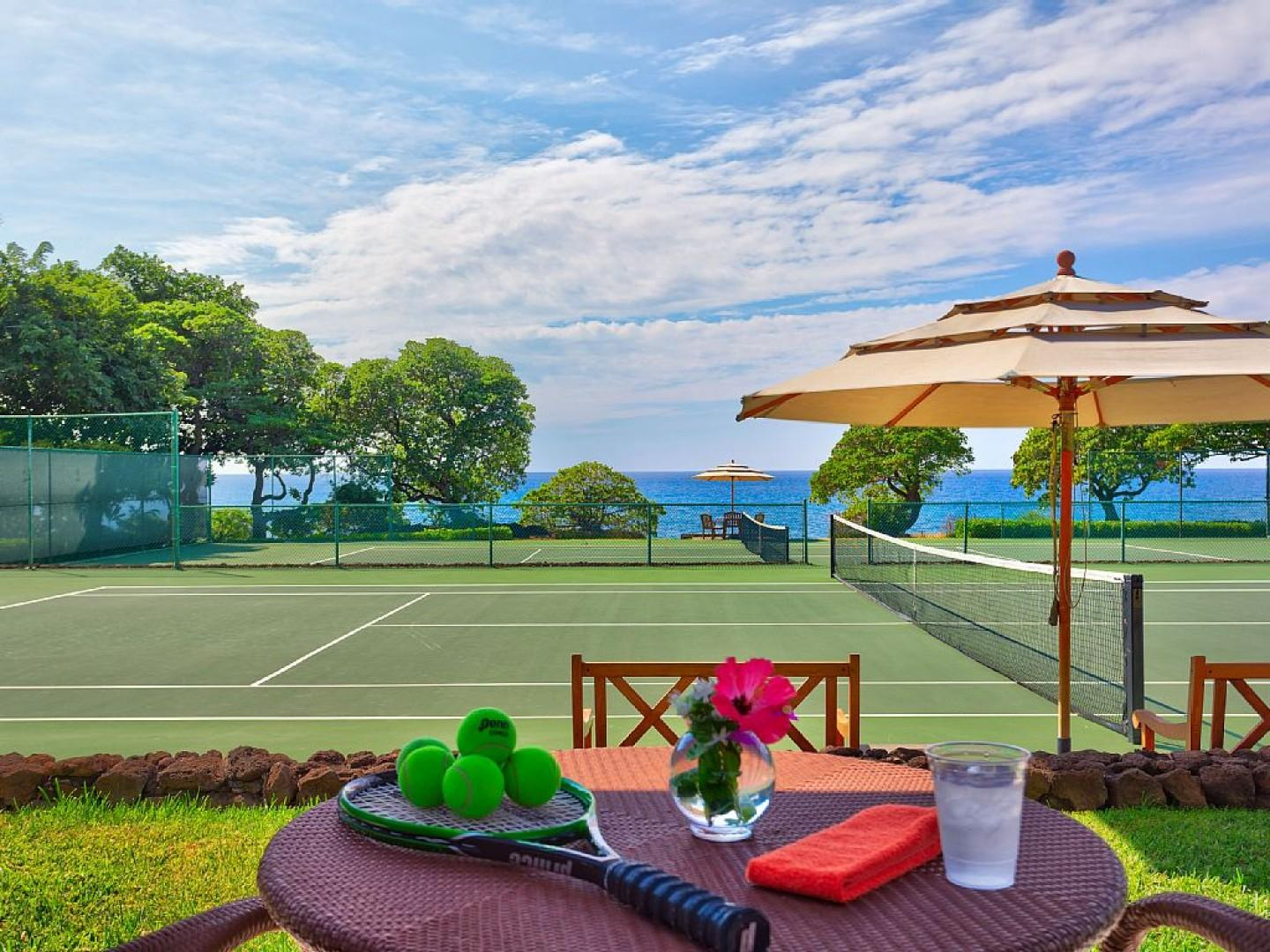 Tennis at the Mauna Kea Resort