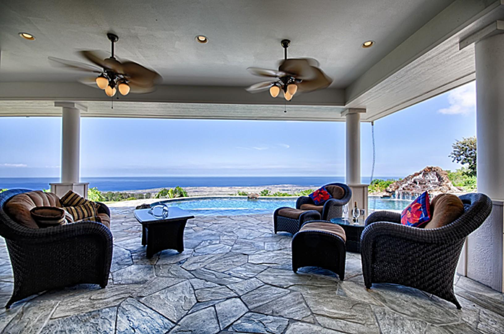 You will love sharing this peaceful lanai with an extraordinary