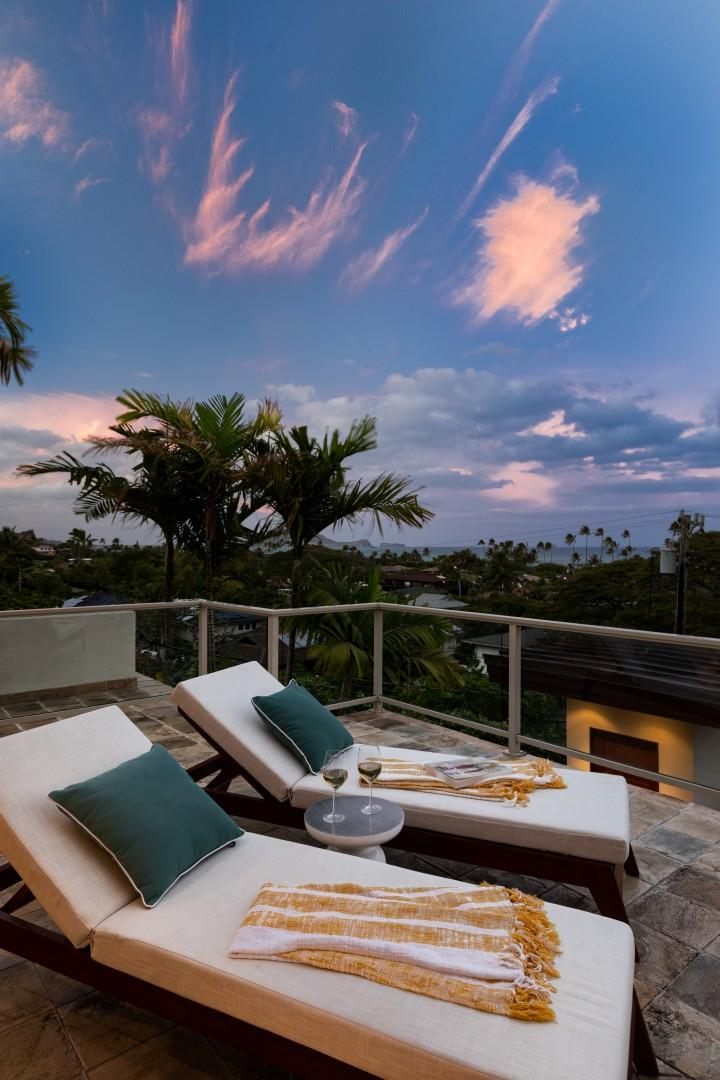 Relax and enjoy the view.