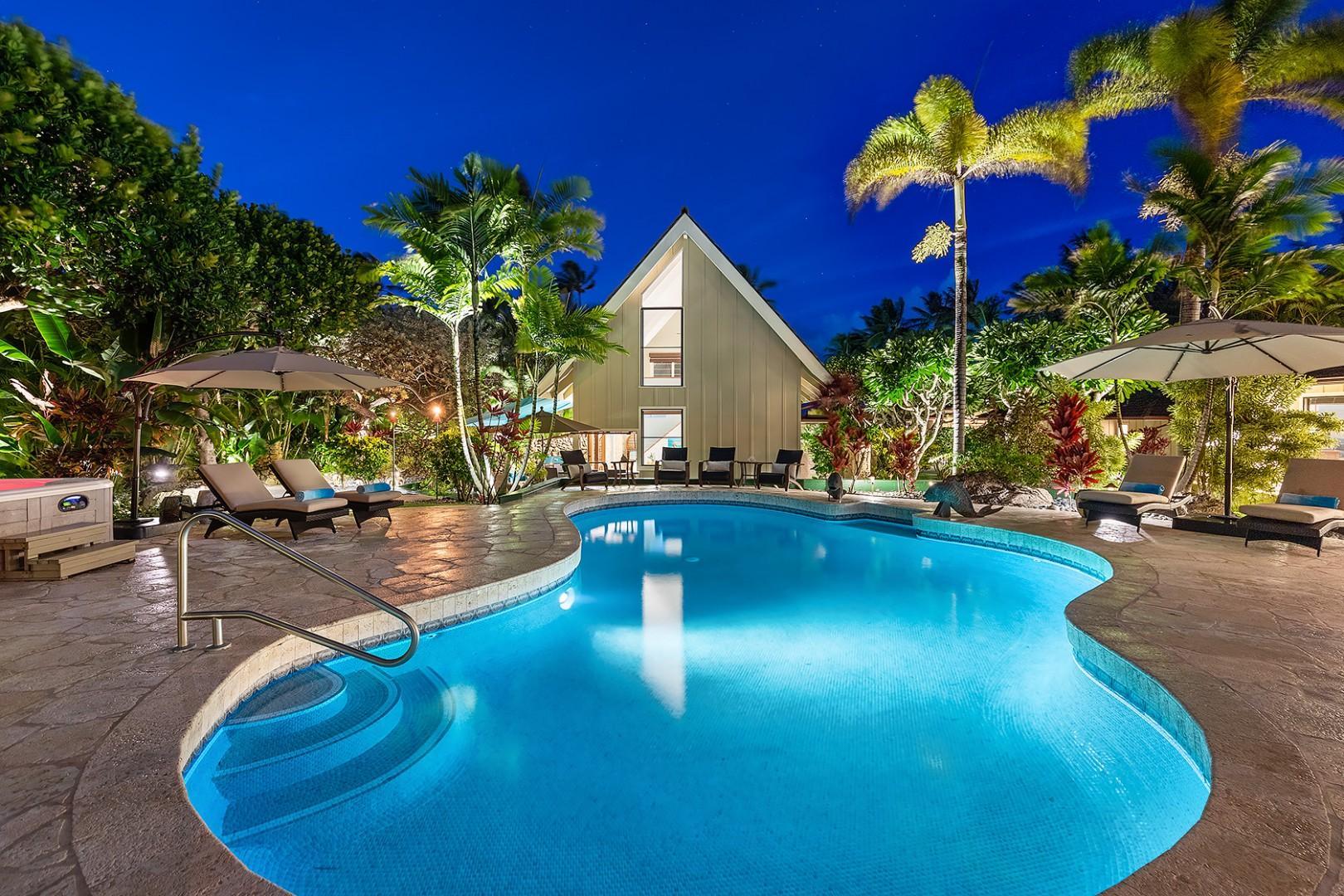 Pool - Pool House