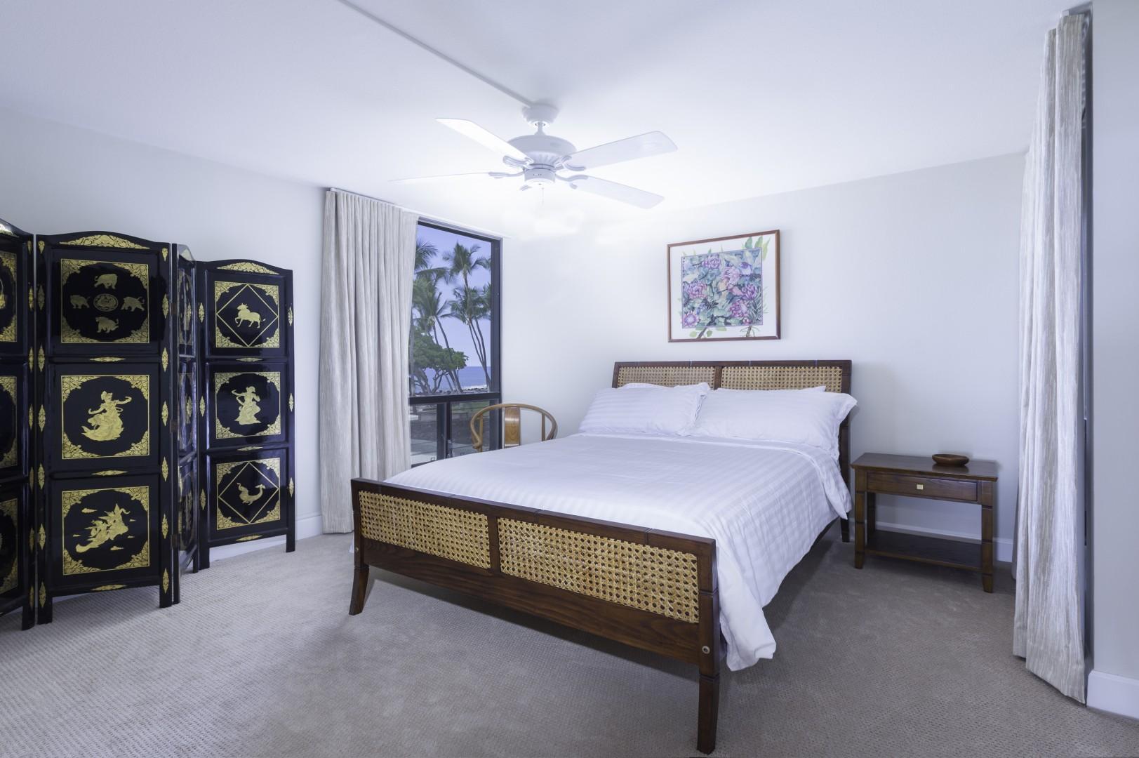 Guest Bedroom with Ocean Views