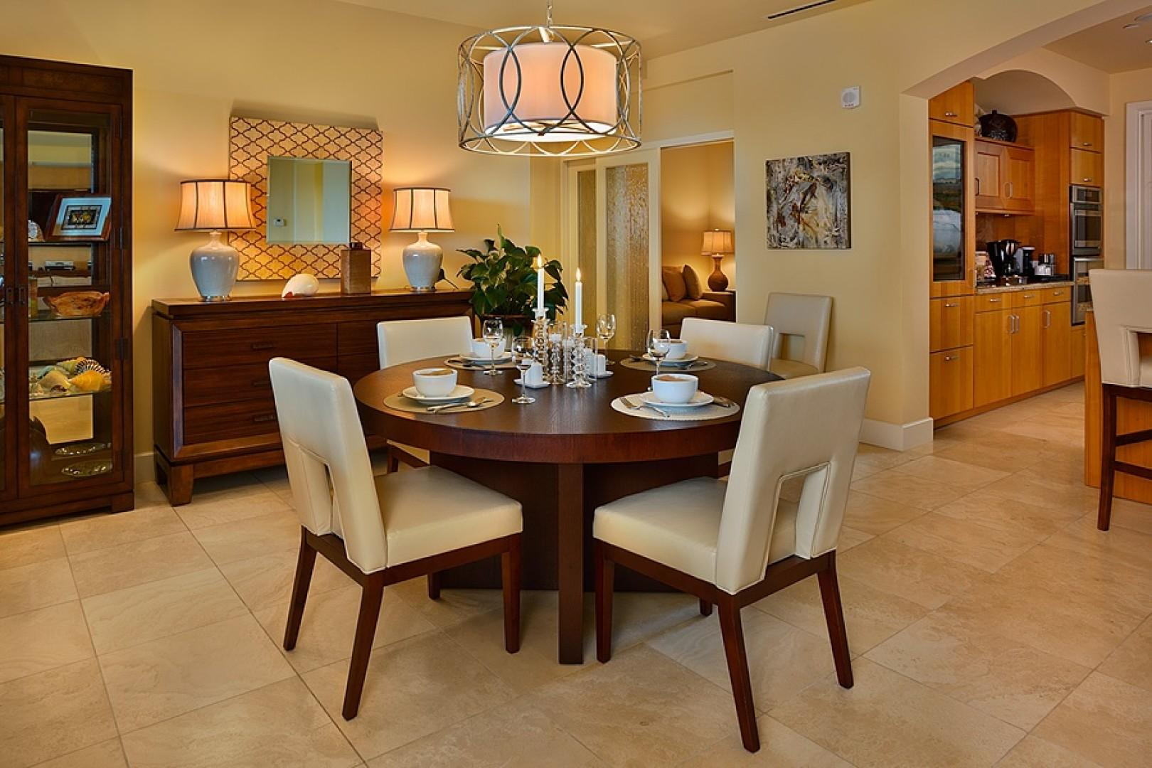 Sandy Surf Beautiful Interior and Dining Seats Six Guests