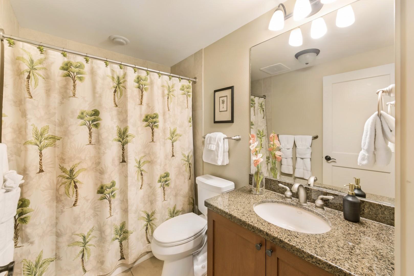 Downstairs guest bathroom, adjacent to bedroom 3