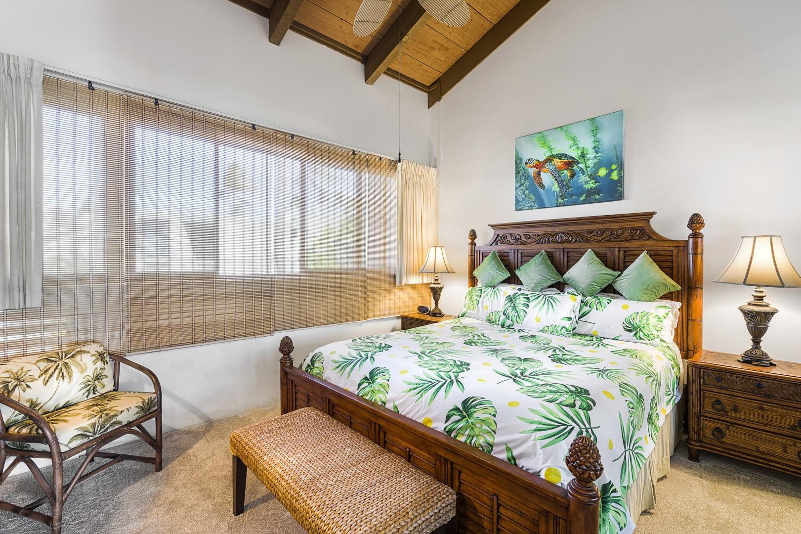 Spacious Master suite with Ocean views & A/C!