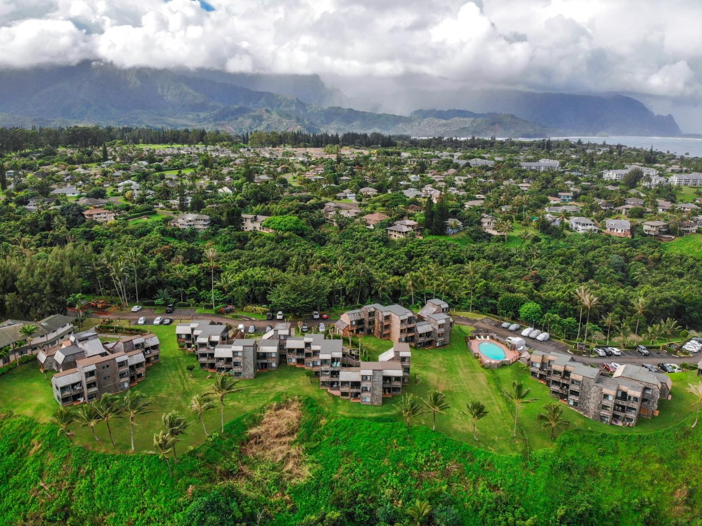 A wider Princeville view