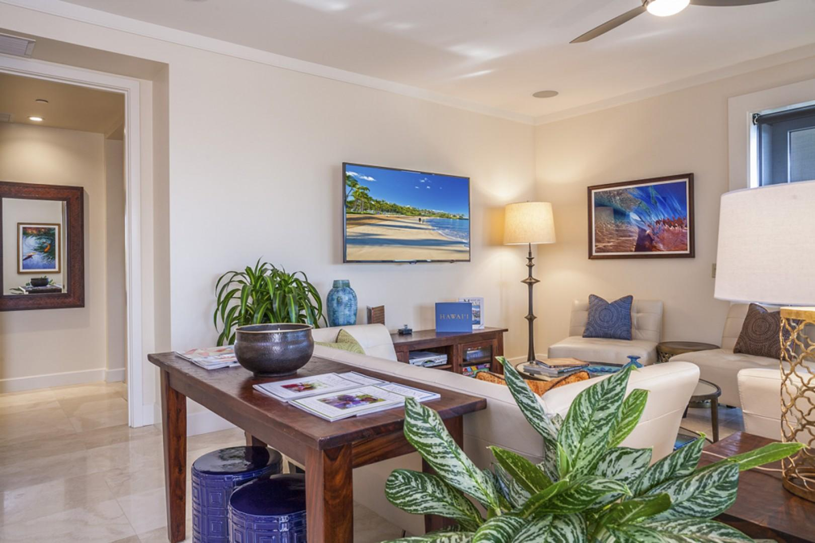 Azure Azul features beautiful decor, top-quality electronics, and other luxurious details.