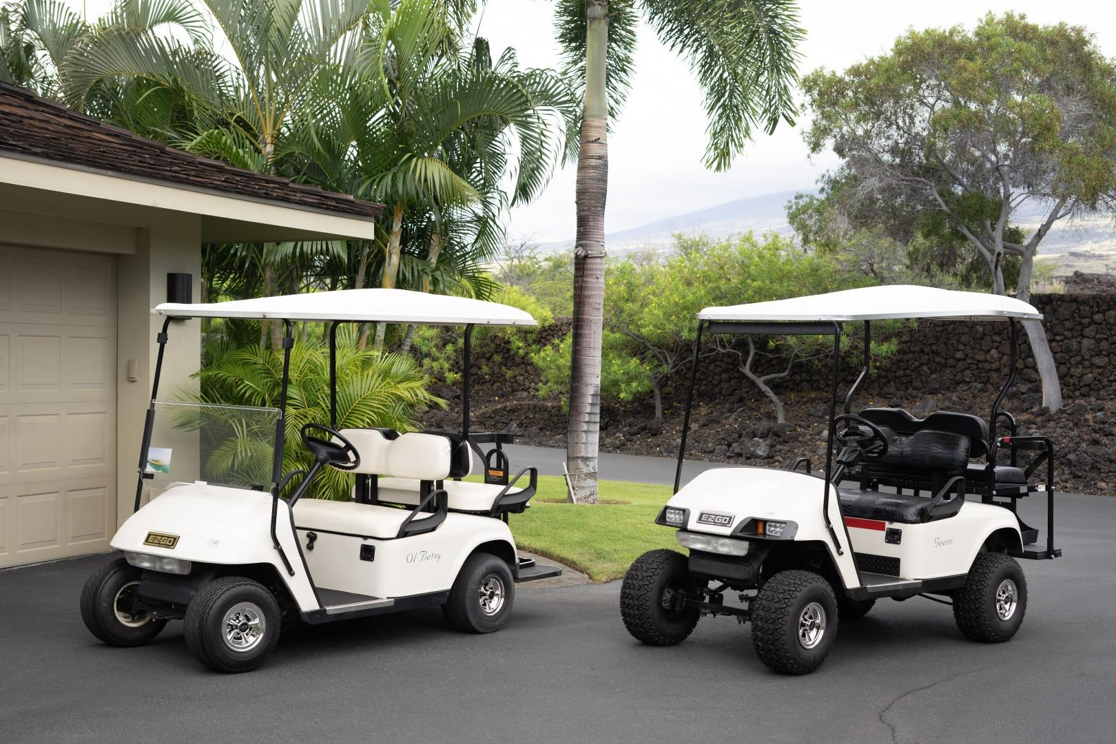 Use of two 4-Seater golf carts is included in your rental for cruising the dazzling resort grounds in style.