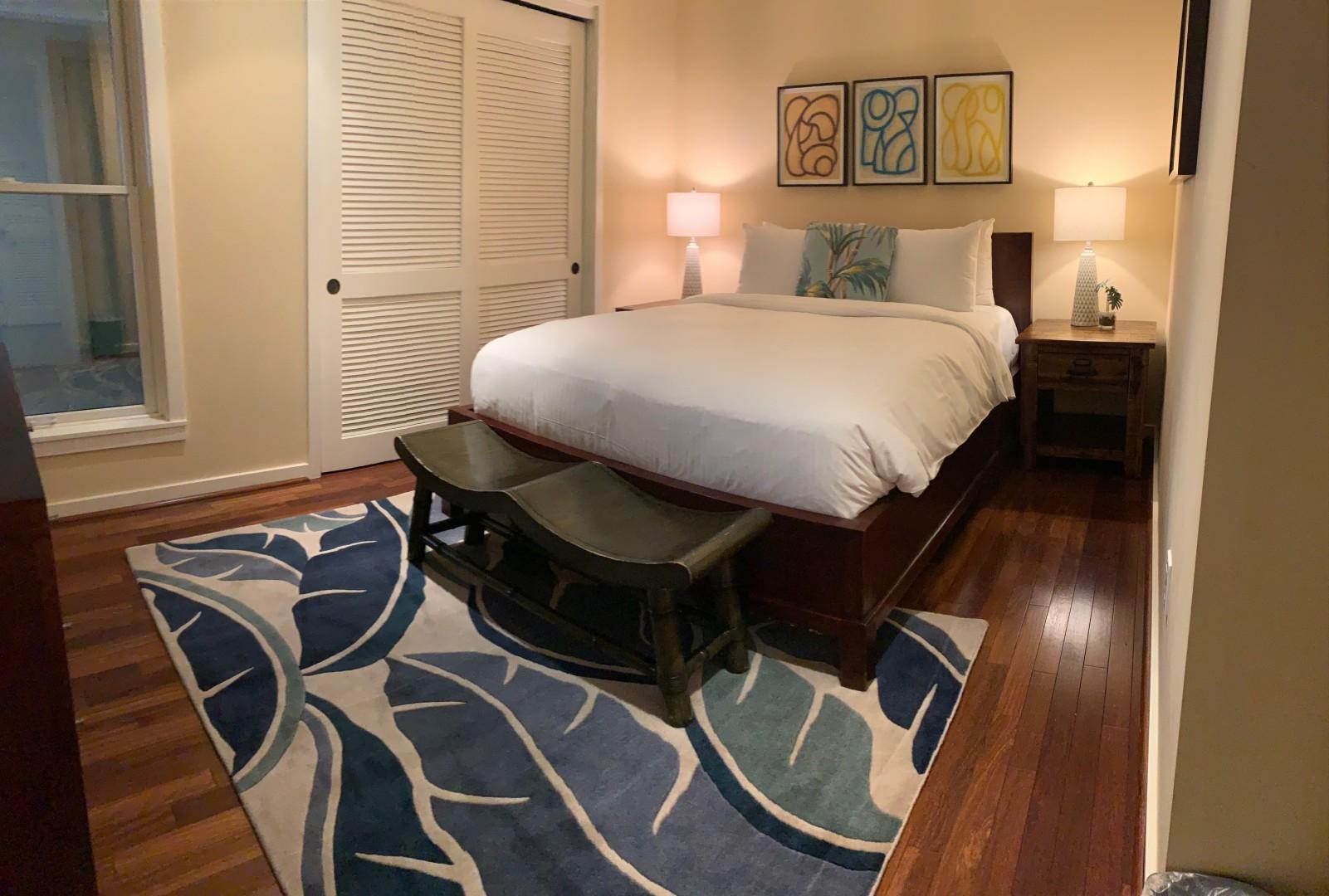 Guest Bedroom, view 1