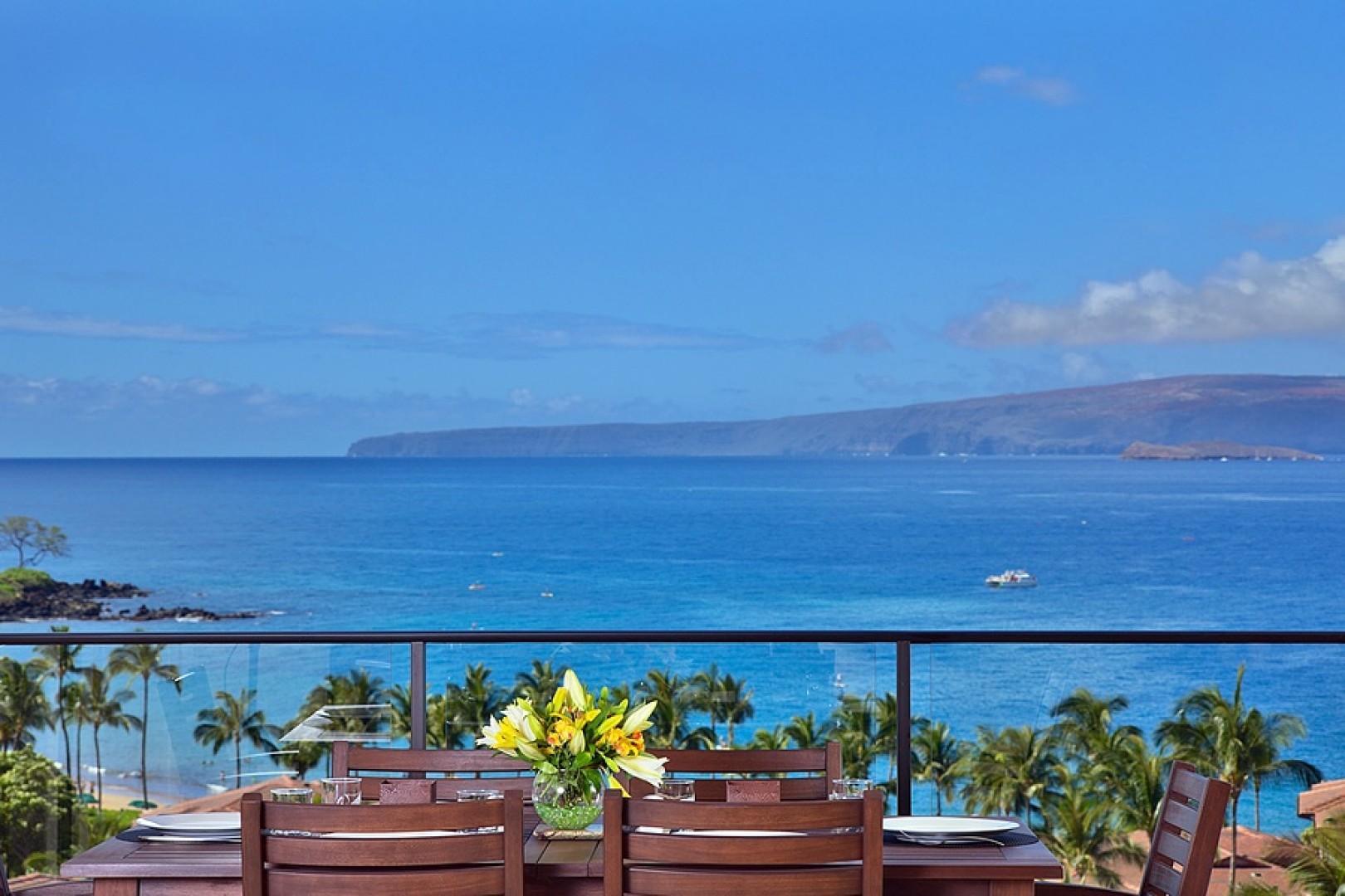 A Truly Panoramic View Awaits You at Sandy Surf K508 Wailea Beach Villas