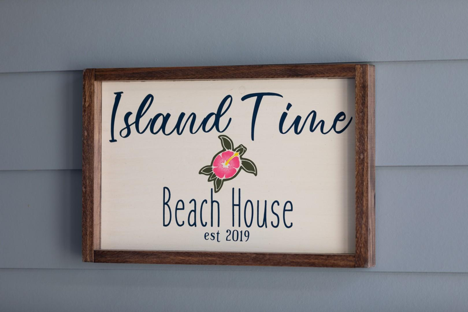 You'll love being on island time!