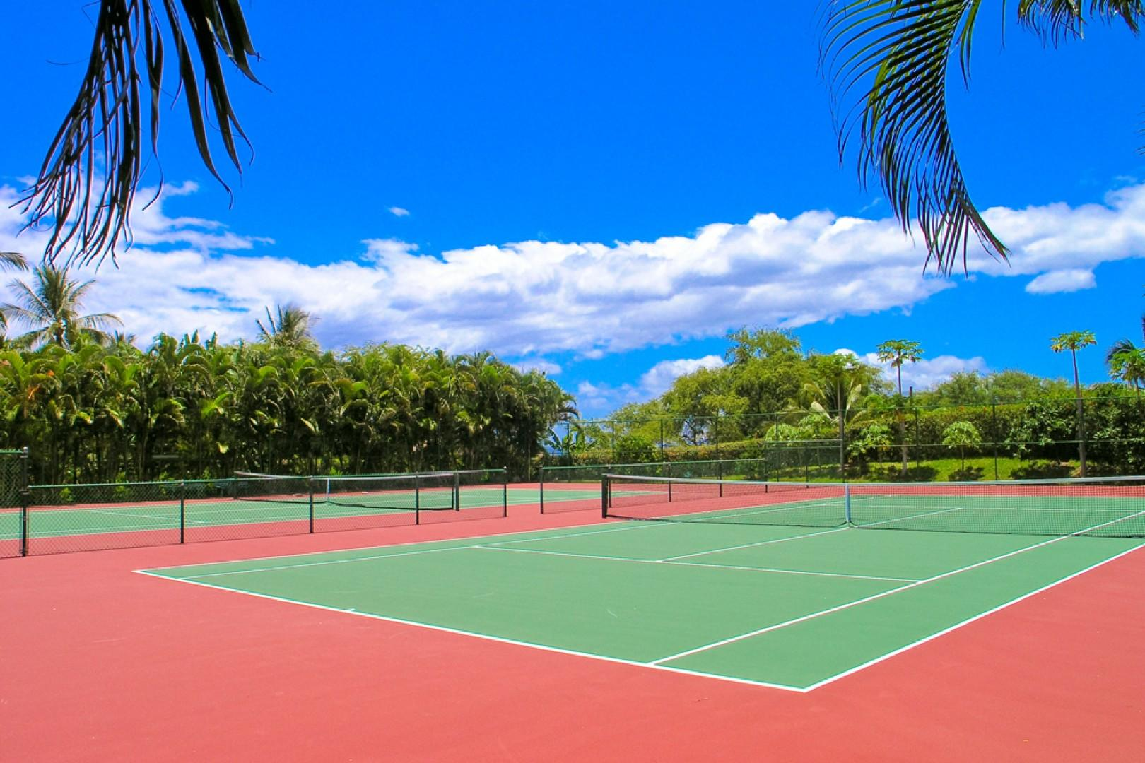 Complimentary In-Resort Tennis Courts