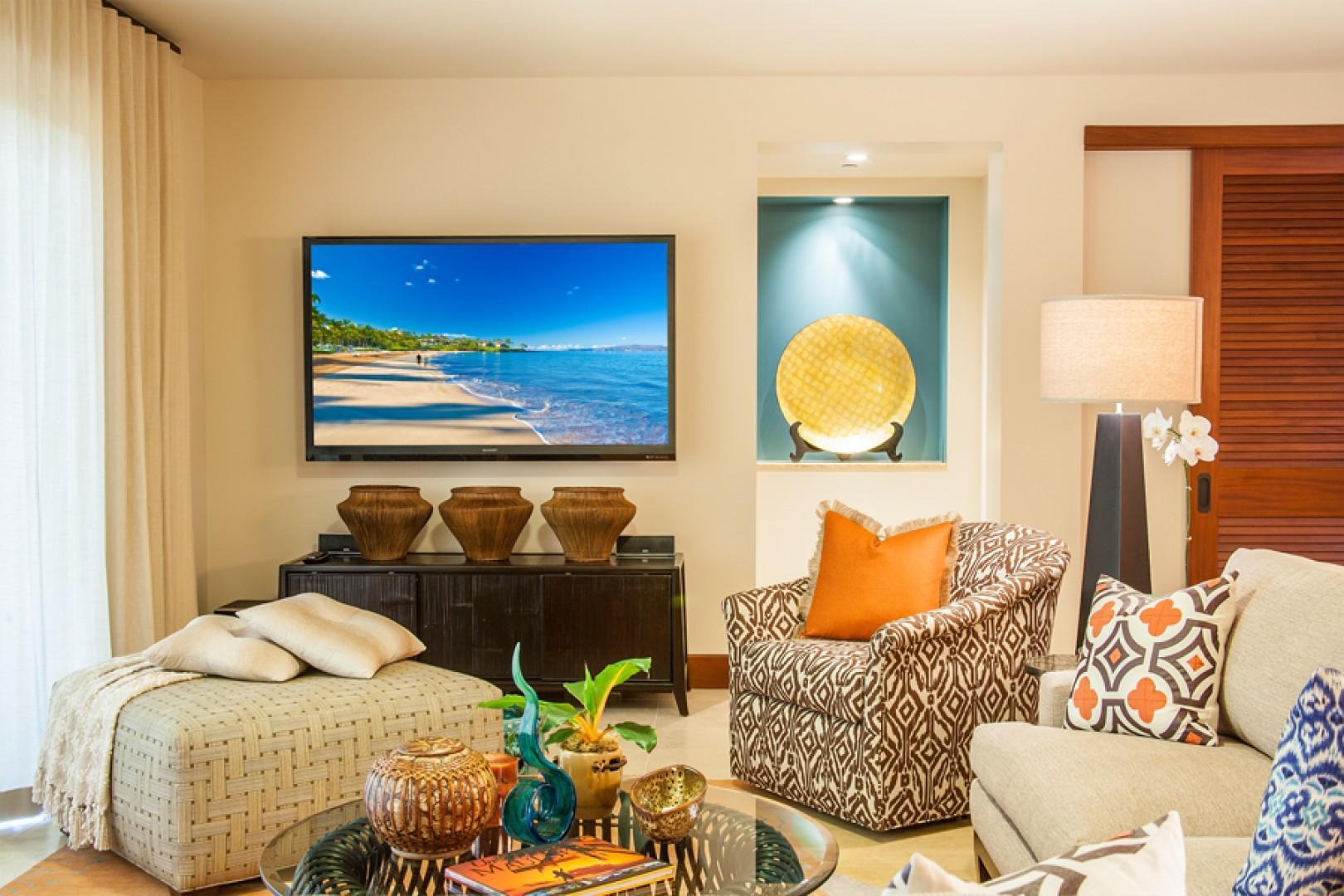 New Professional Decor Throughout Sun Splash Villa