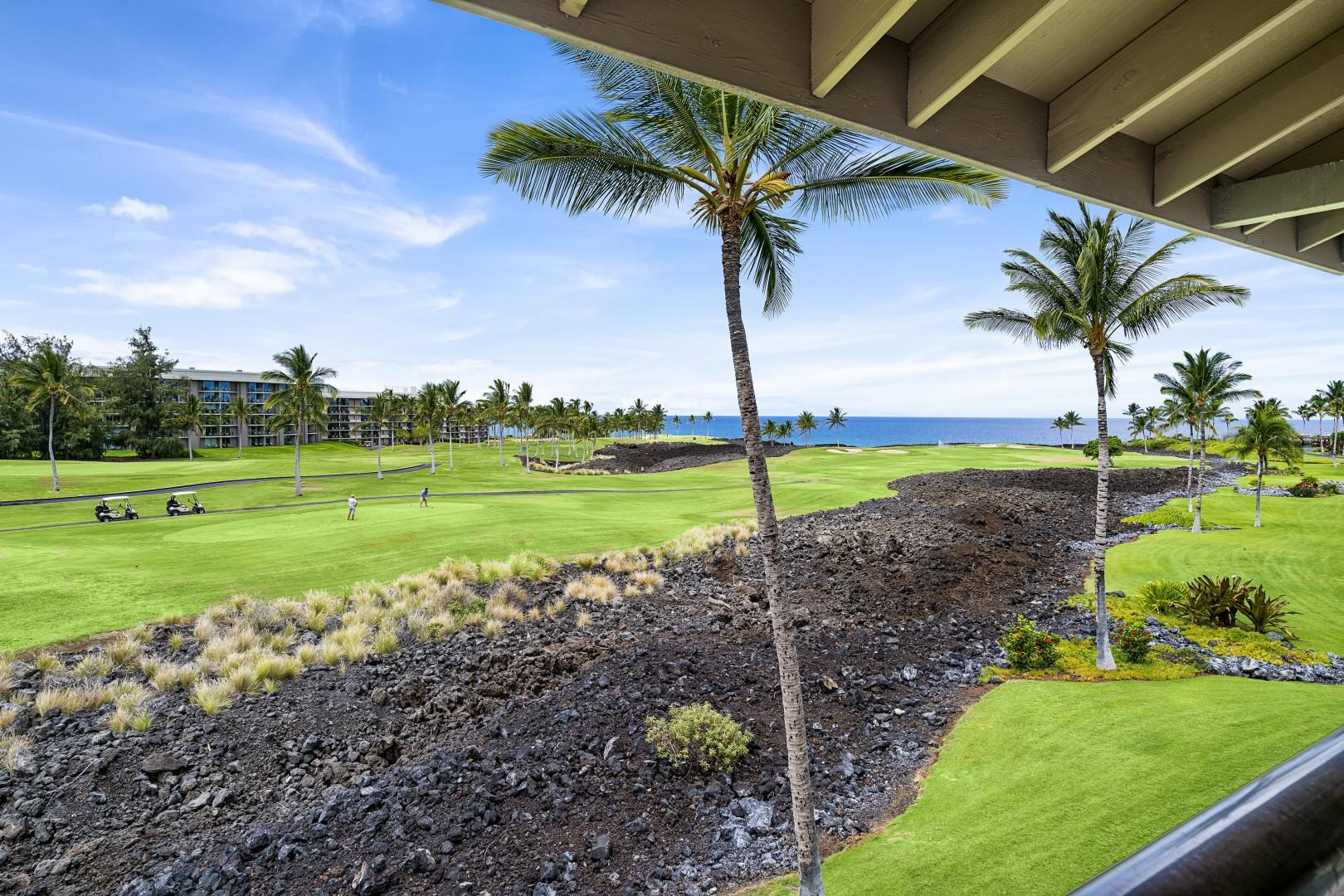 Gorgeous views from every spot on the Lanai!