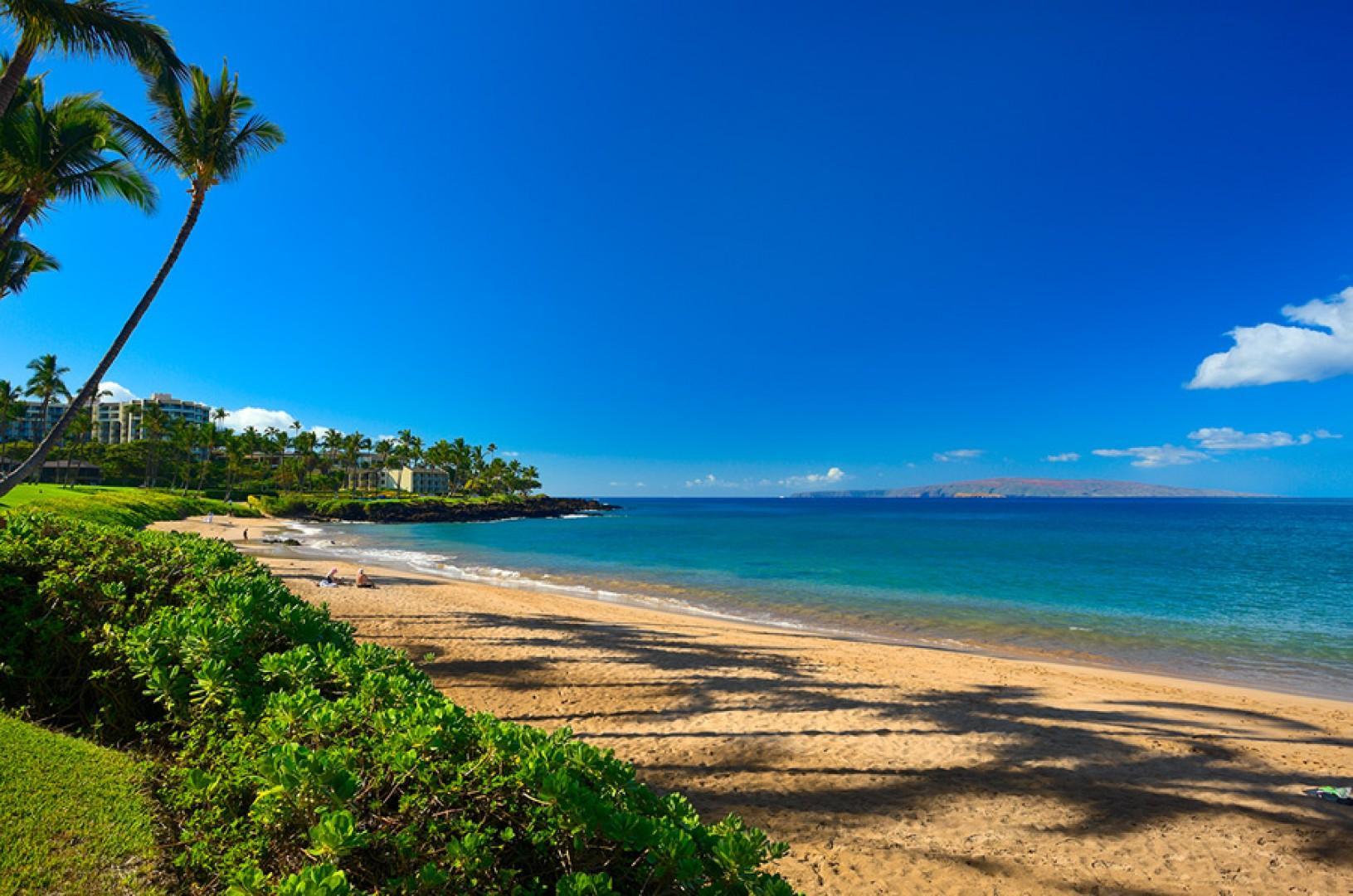 Lovely Elua Beach.