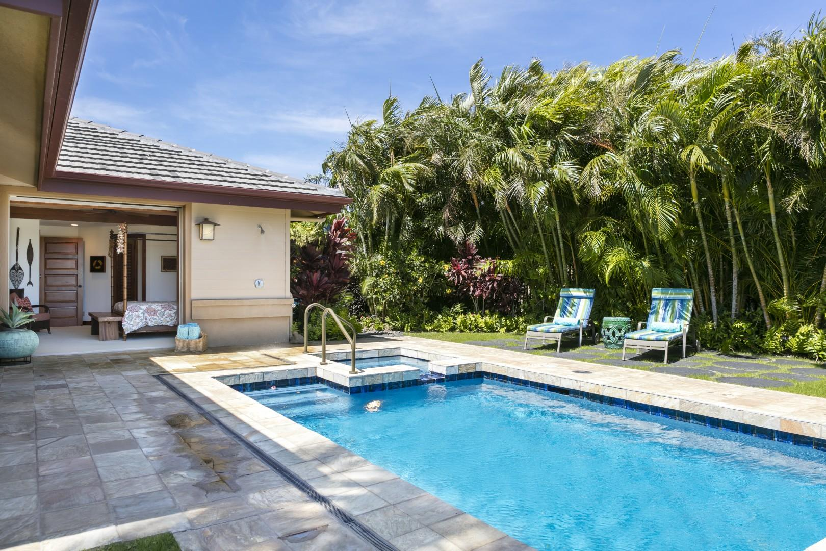 Ask about heat during the winter months for the pool