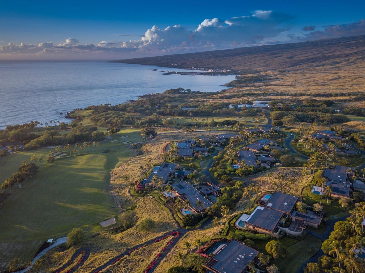 Villas at Mauna Kea are Primely Located Walking Distance (or just a one Minute Drive) from Mauna Kea Beach Hotel, Restaurants, Spa, Exercise Facilities & Famous White Sand Kauna'oa Beach.