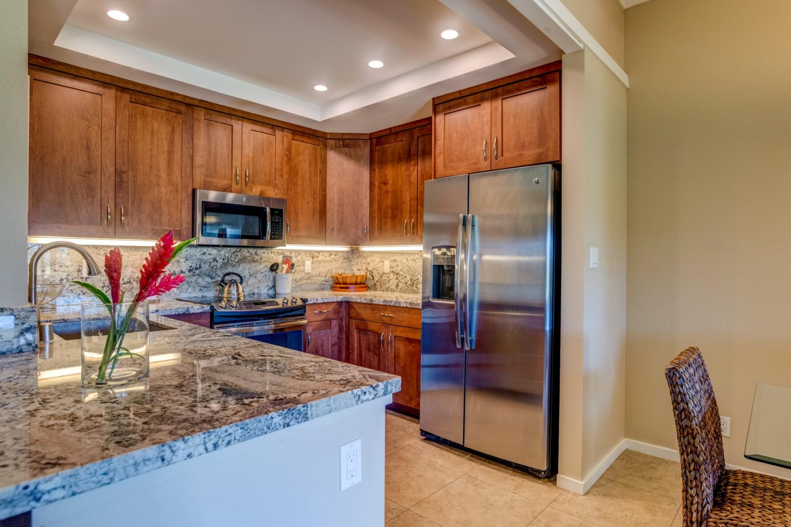 Plenty of space for all your kitchen needs