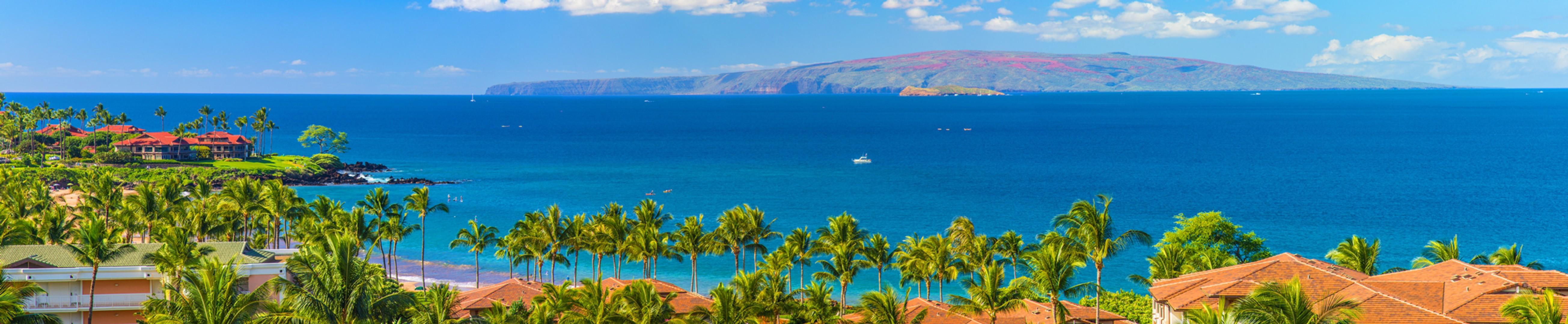 Stunning Panoramic Ocean Views From K507 Wailea Seashore Suite Located on the TOP (5th Floor) of Wailea Beach Villas.