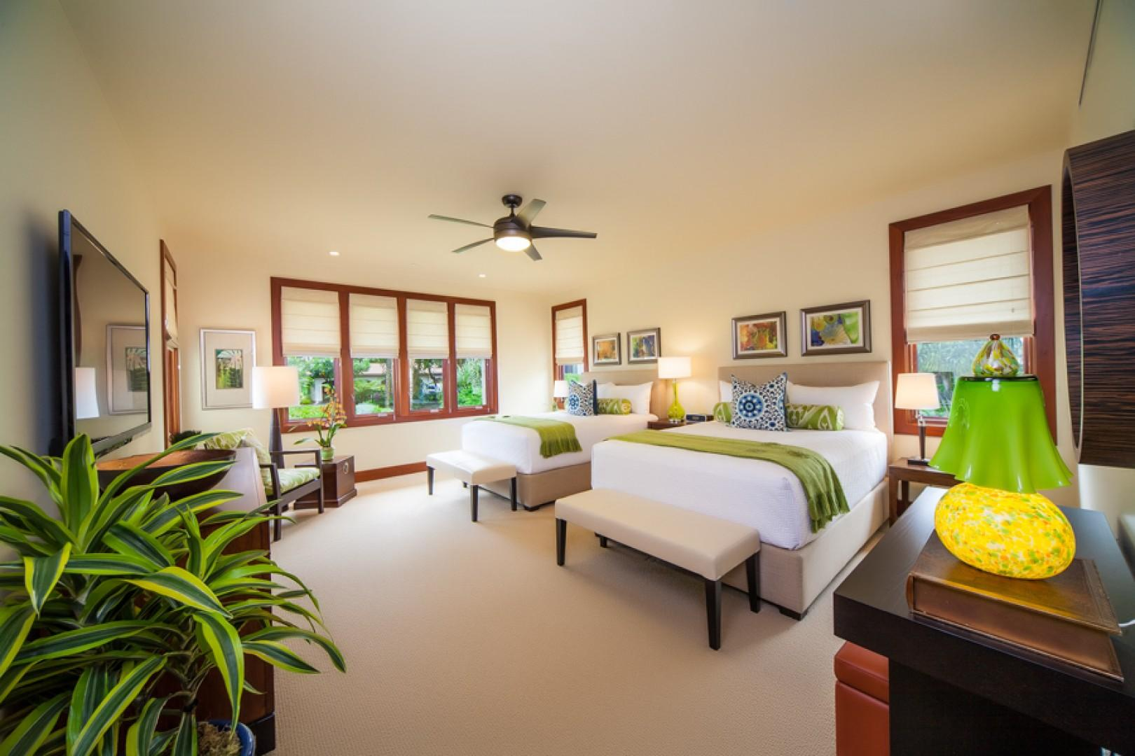 Sun Splash C301 - Second Master Bedroom with Private Bath and Two Queen Beds