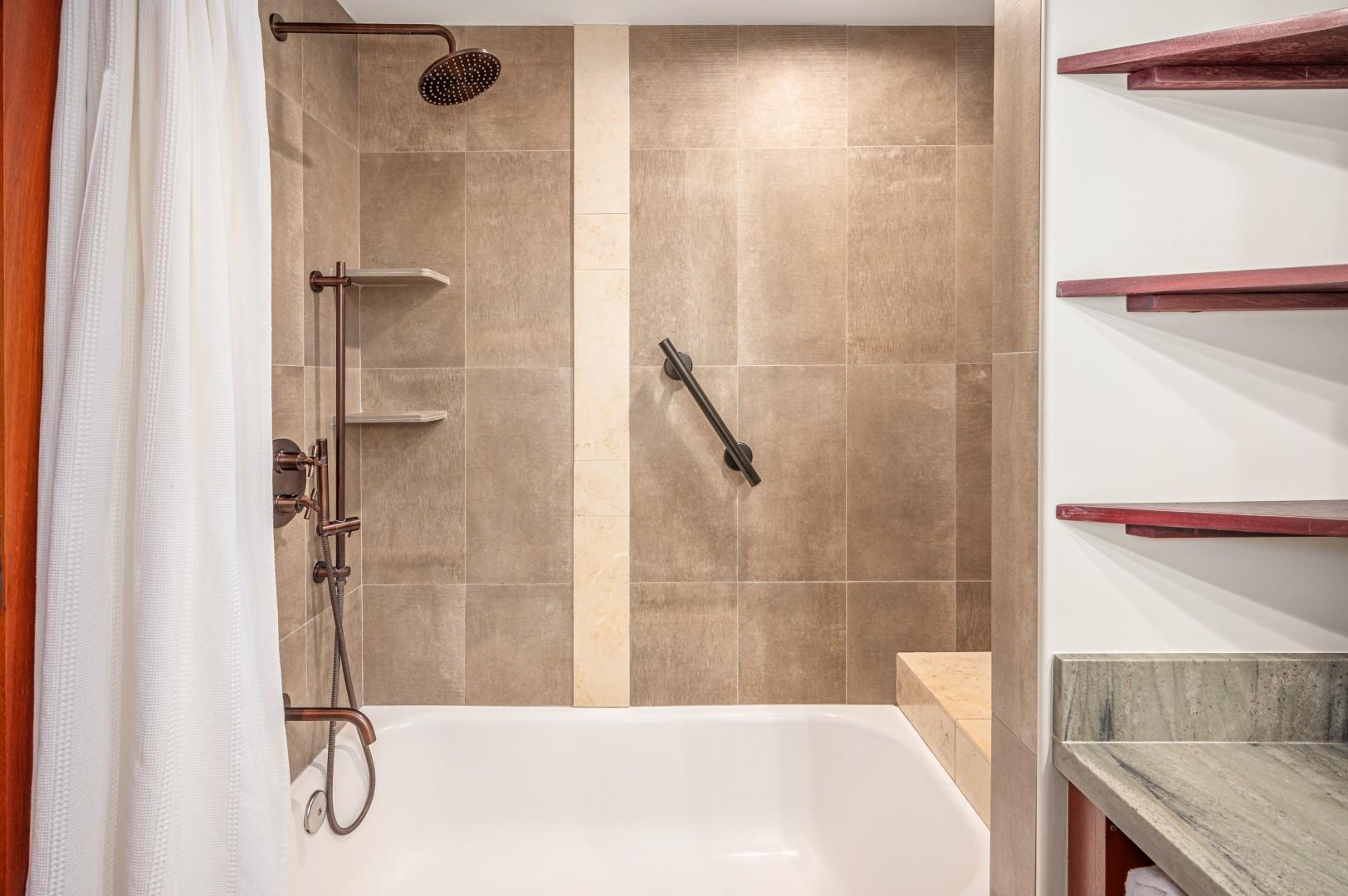 Combo Shower/Bath Tub