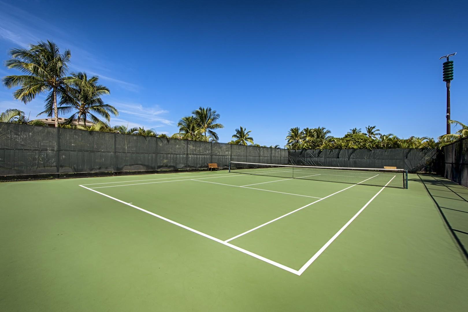 Hali'i Kai tennis courts.