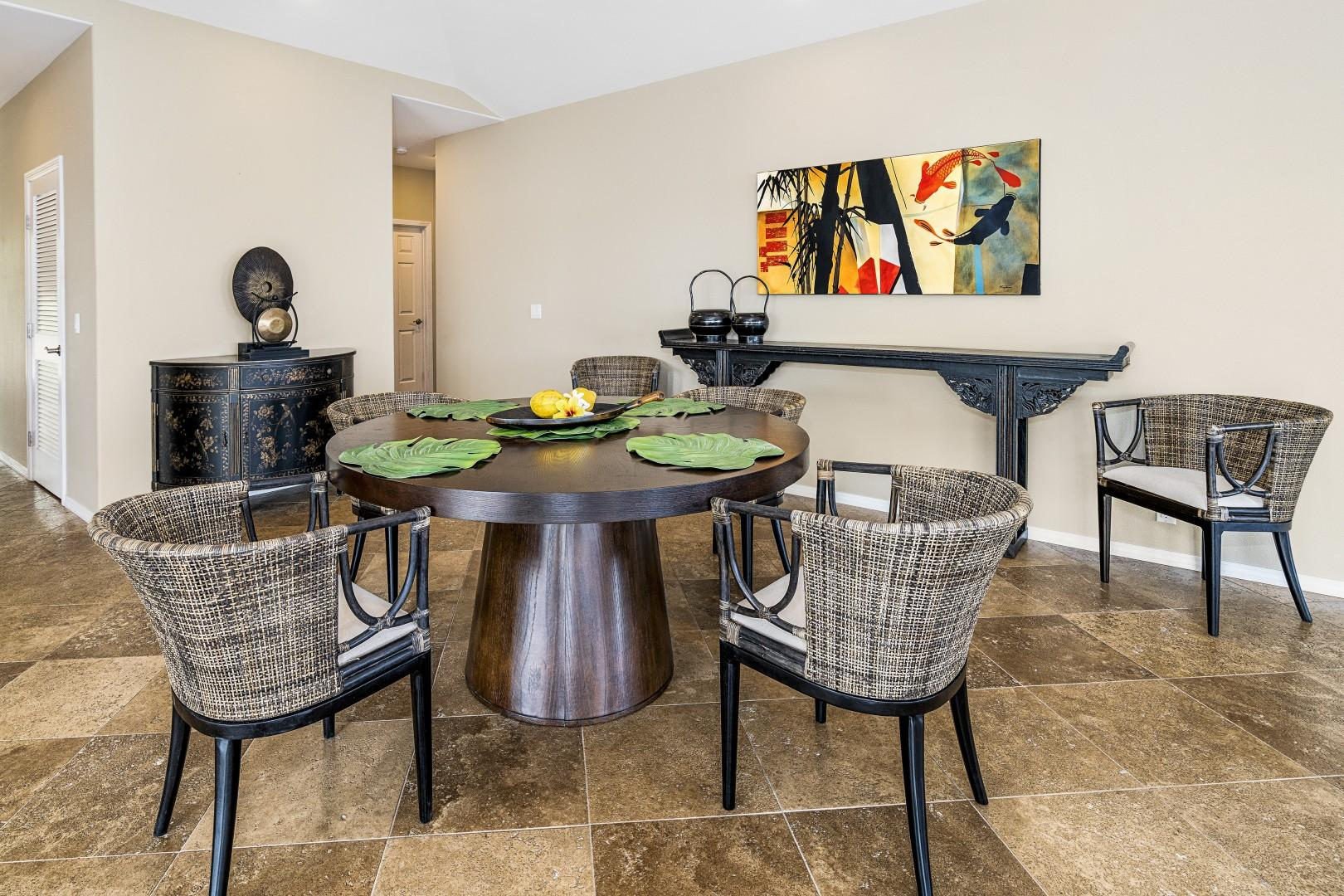 Indoor dining for up to 6 guests!