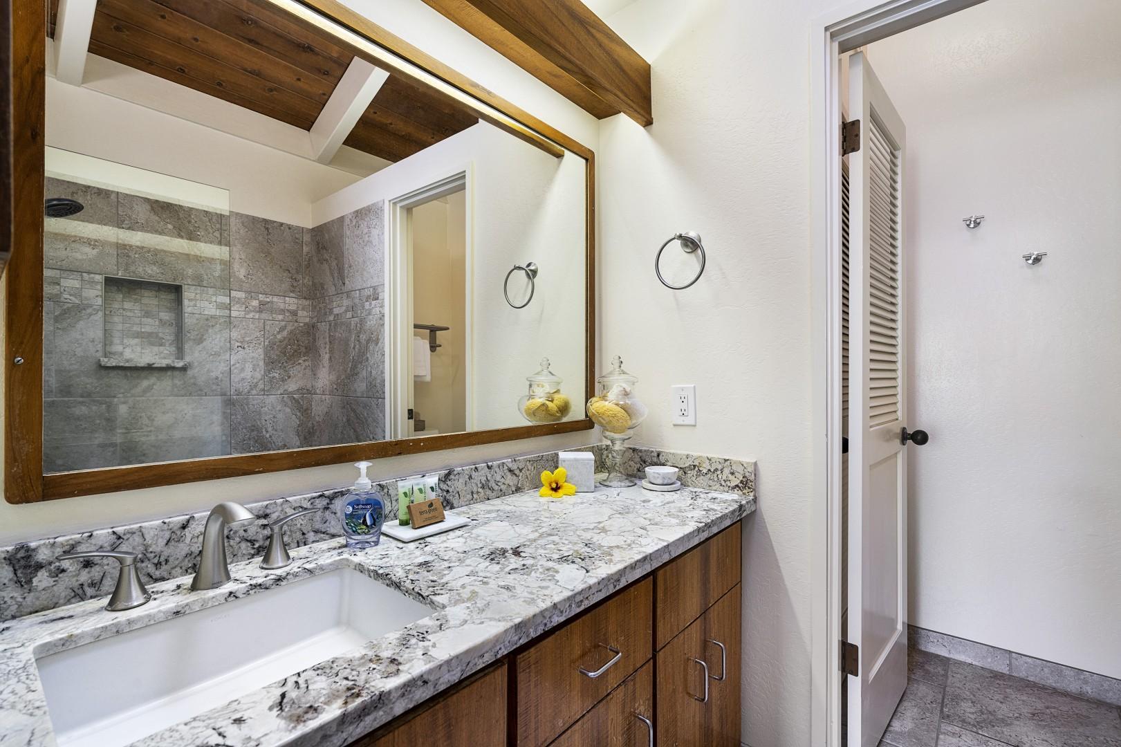 Upgraded Master bathroom ensuite