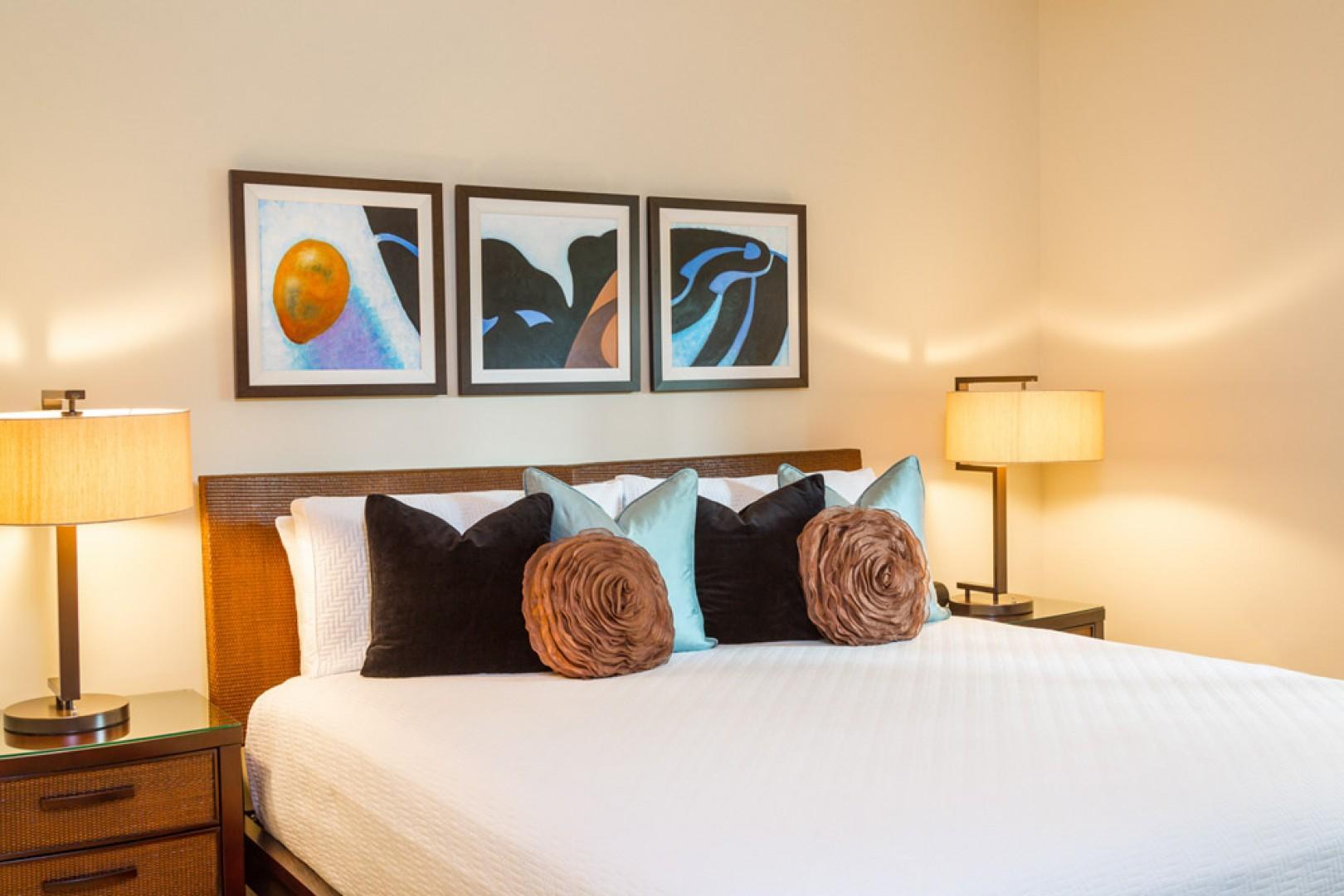 Second king bedroom suite.