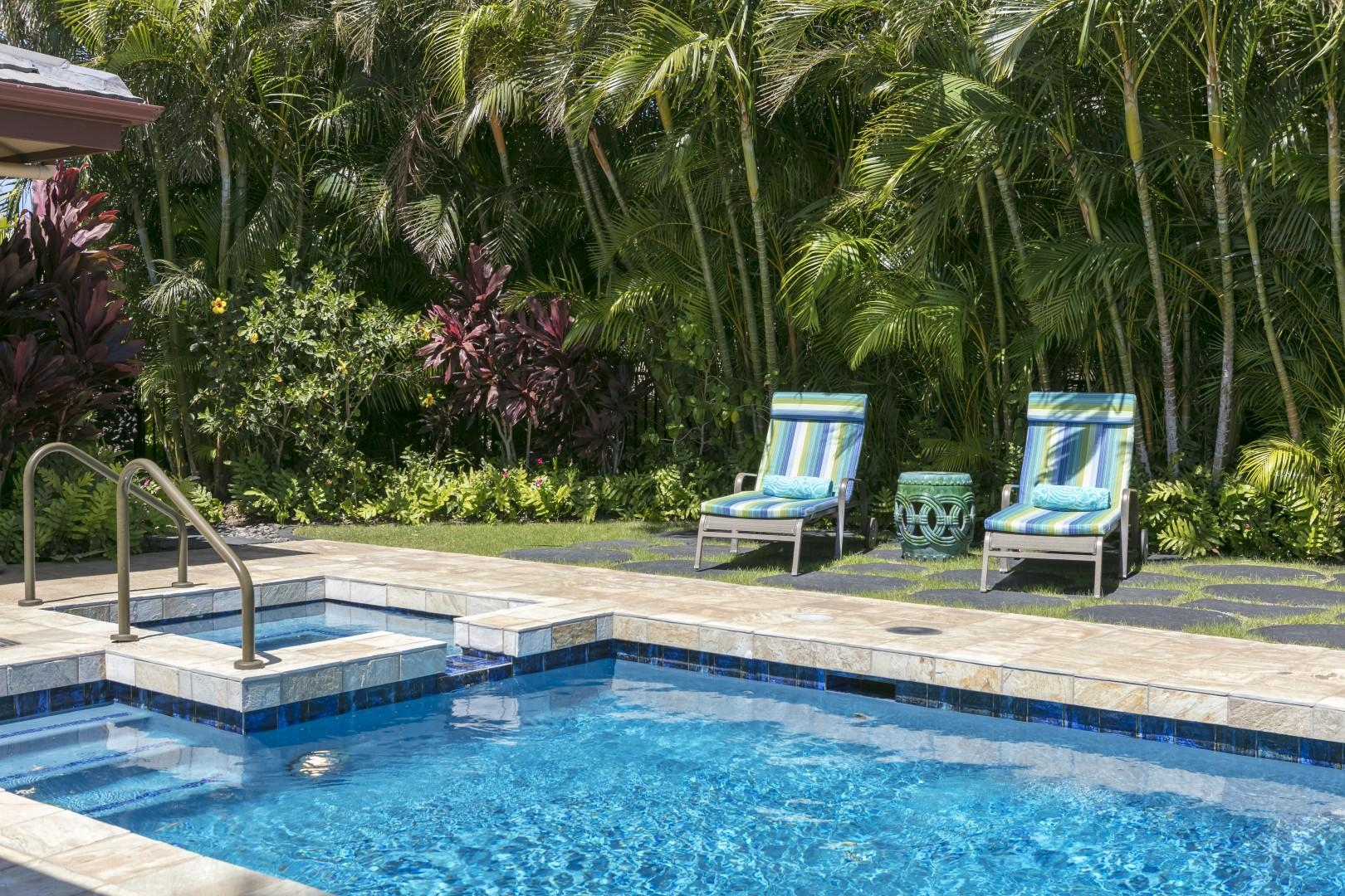 Villages #728 has everything you need!  Private Pool/Spa and Back Yard - 3 bedrooms, 3.5 baths and office - Not a CONDO, THIS IS A HOME - PLUS OVER 30 5-STAR REVIEWS!  Enjoy your private pool/spa anytime of the day!