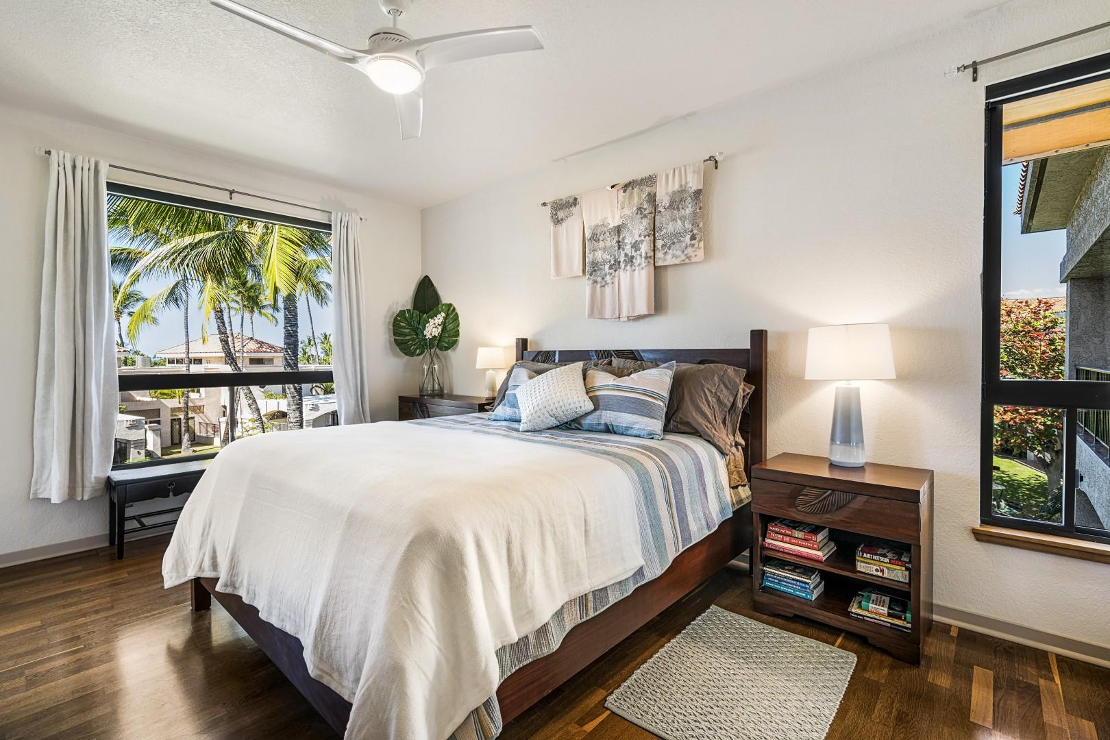 Master bedroom equipped with Queen bed