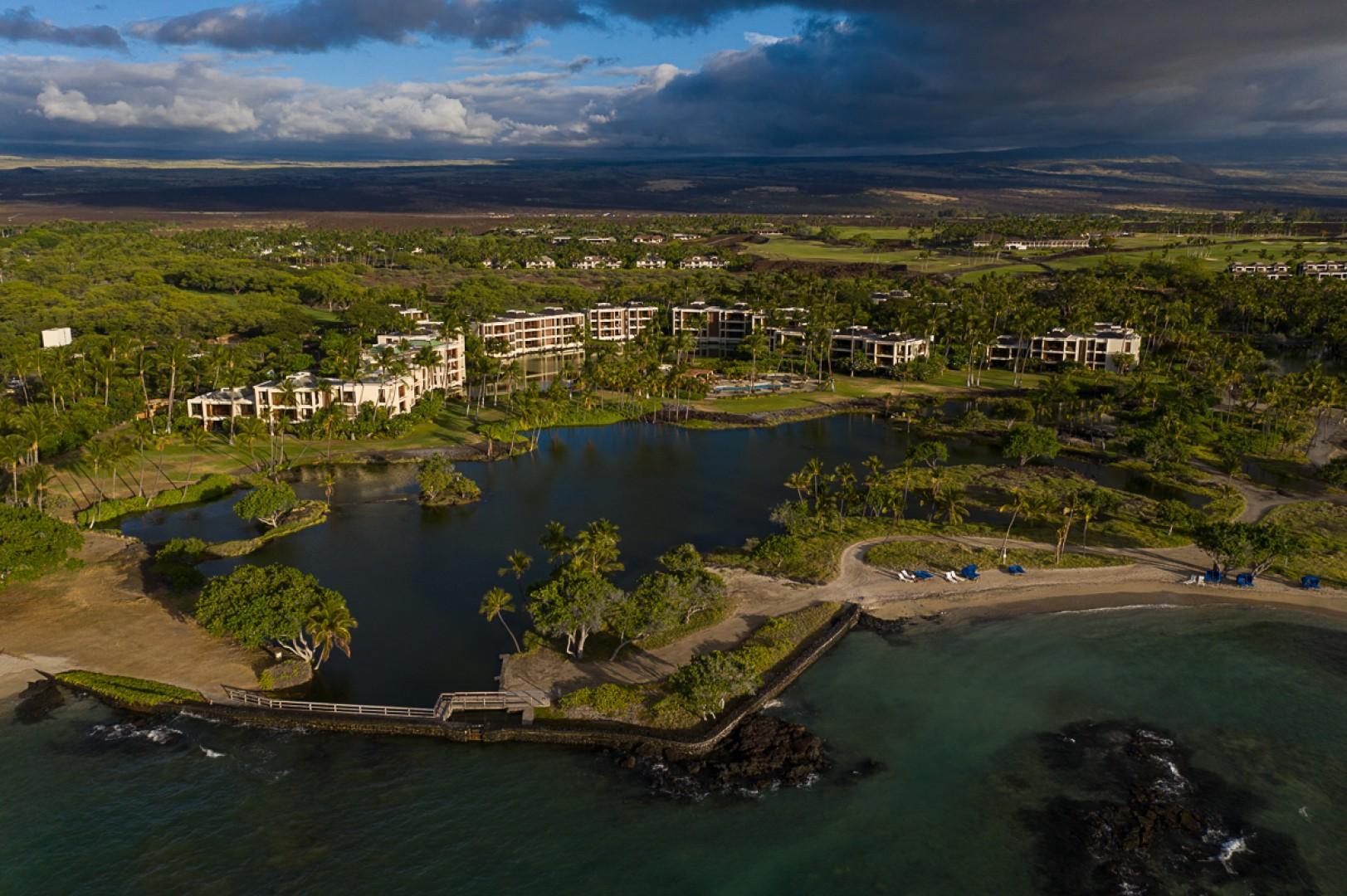 Mauna Lani Terrace Aerial