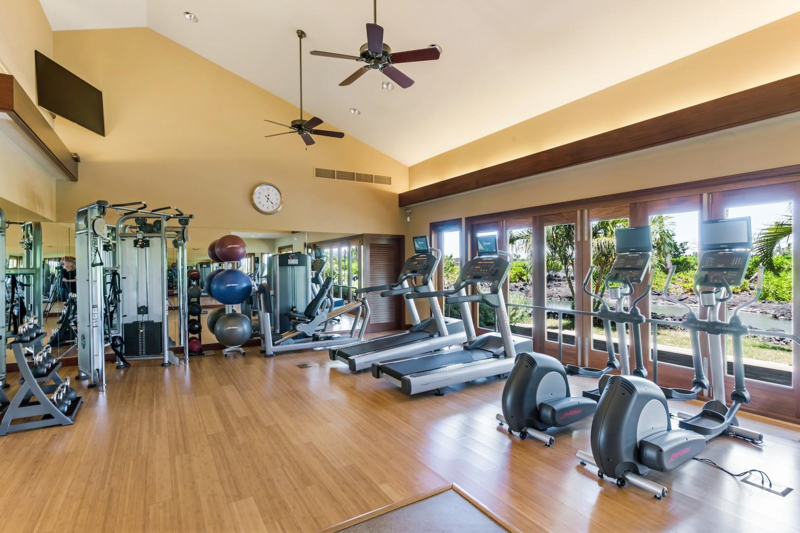 Fitness Enthusiasts Will Love the Hana Pono Park Fitness Center!
