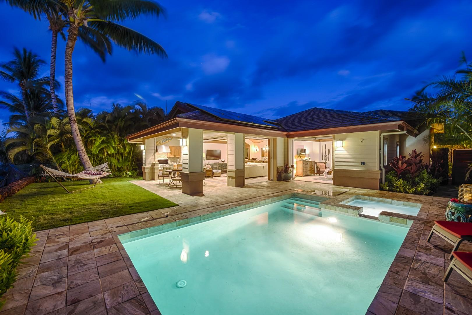 DAY OR NIGHT, THIS HOME SHINES!