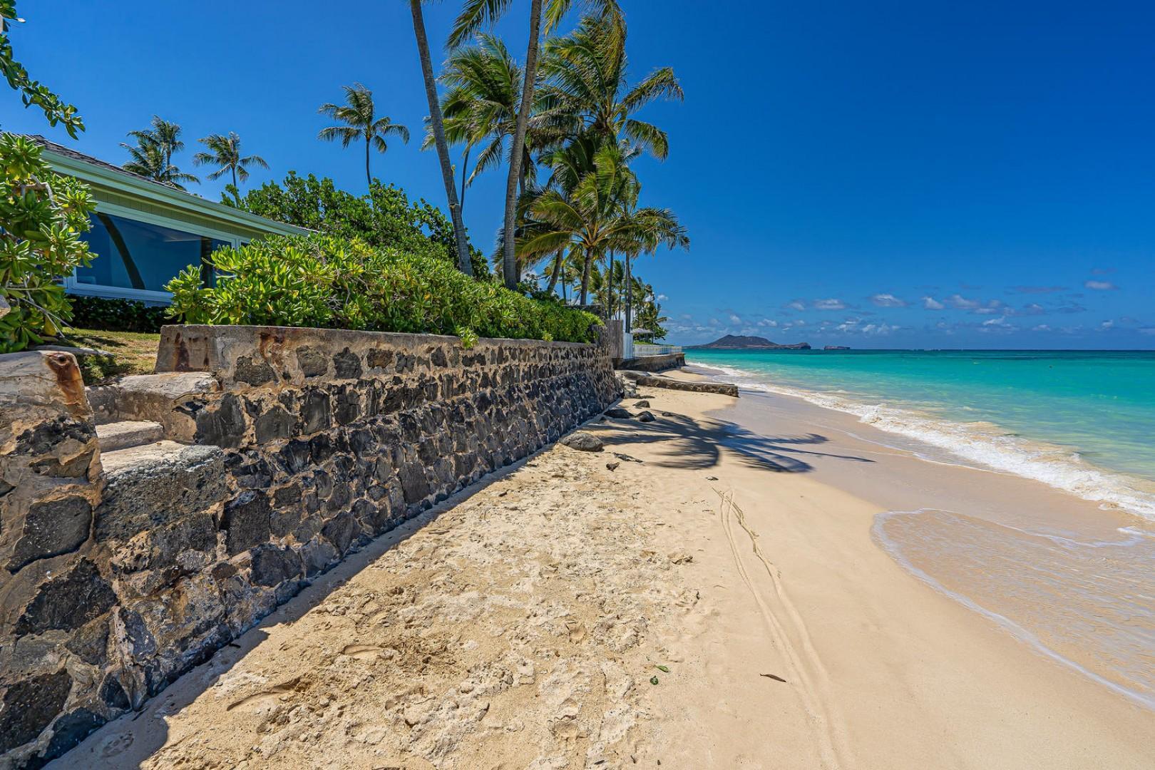 Lanikai Seashore Beach Access