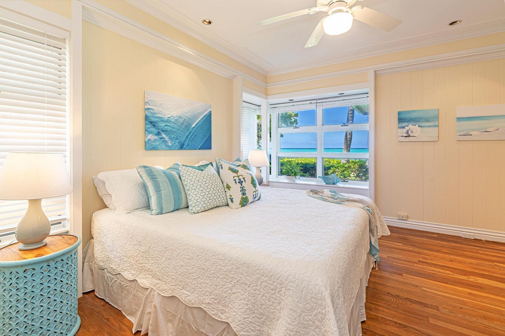 Lanikai Seashore Master Bedroom Ocean Views