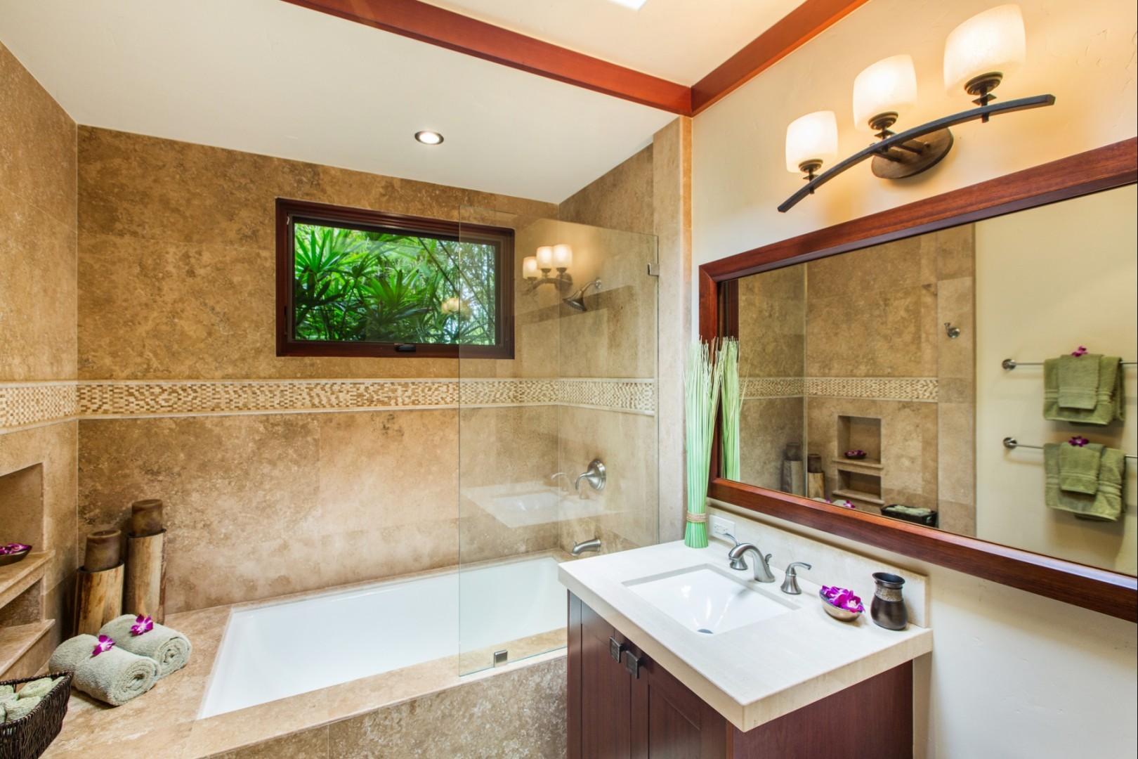 Downstairs East Guest Room Bathroom