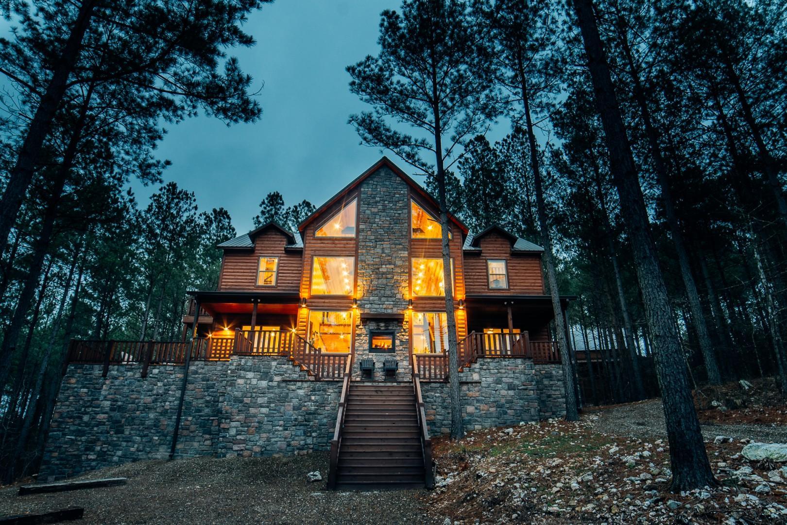 Hillside Treehouse