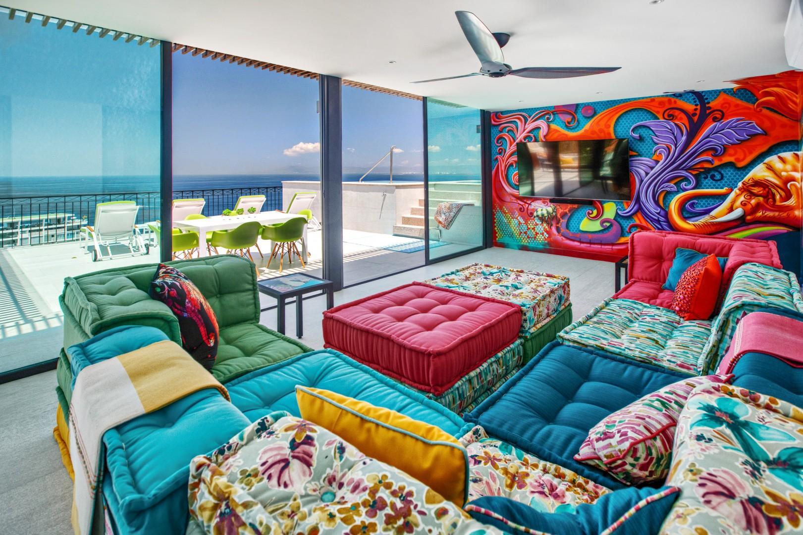 Lofts Delfines Penthouse w/ Private Roof Terrace