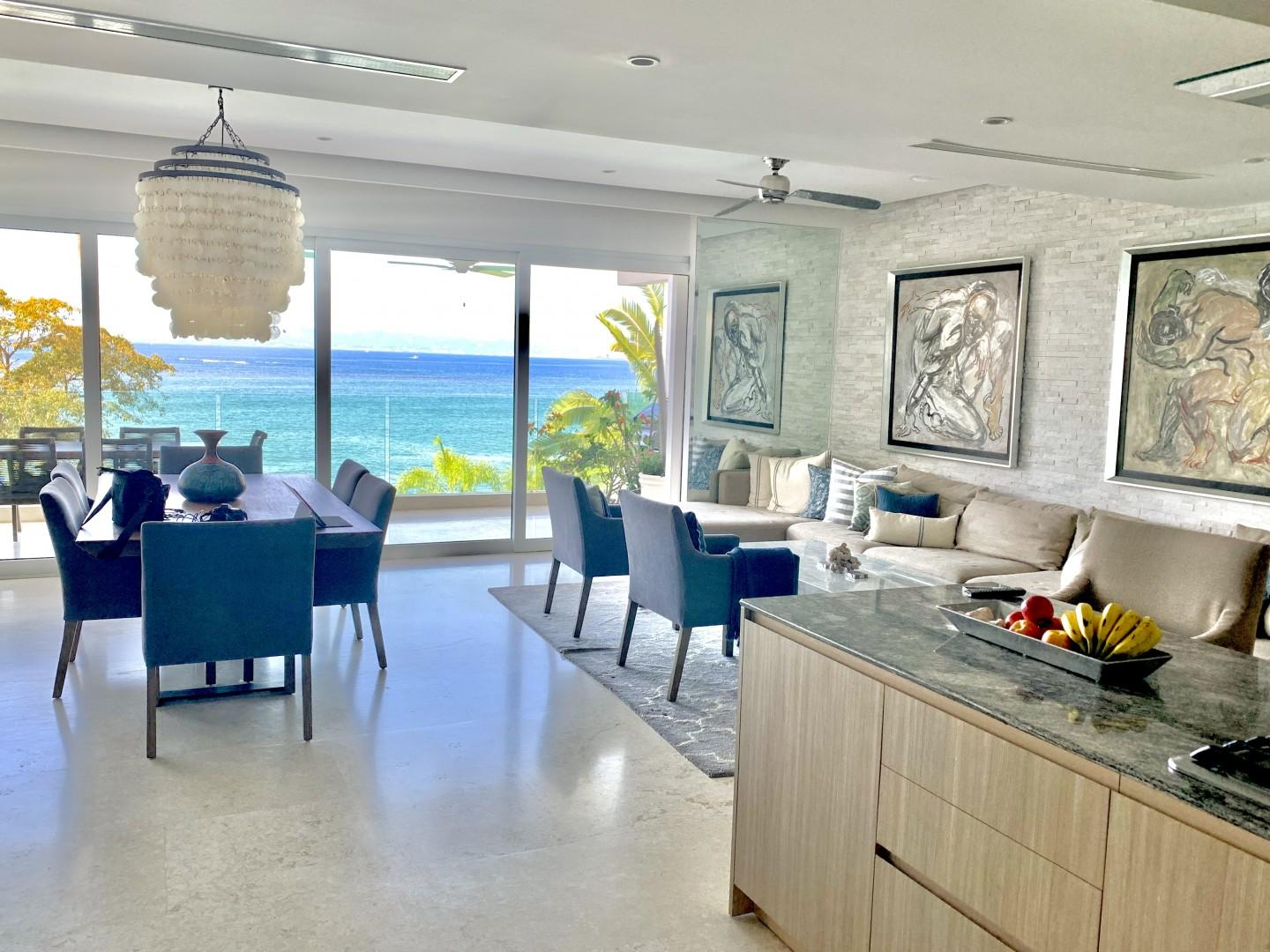 Tranquil Oceanfront Condo at Sayan Tropical
