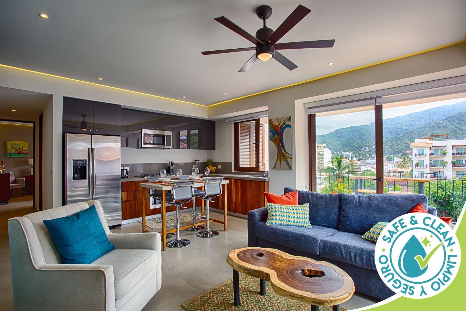Mountain View Condo @ Oceana | Rooftop Pool, Best Gym, Romantic Zone