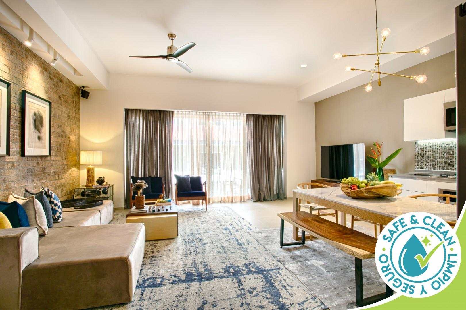 Relax at the Loft Lounge | NEW 2bdrm Condo | Rooftop Pool, Gym