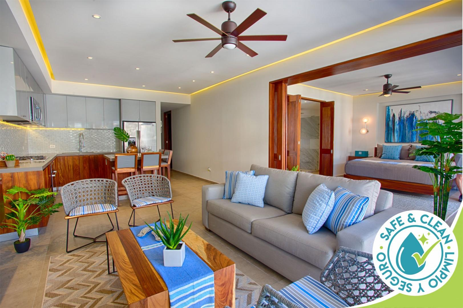 Stylish and Modern Condo at Oceana | Best Gym, Rooftop Pool, Old Town