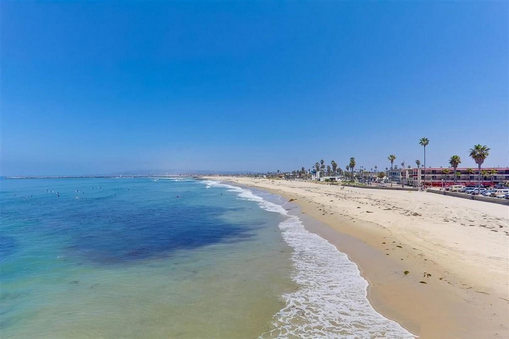Sandy beach at Ocean Beach