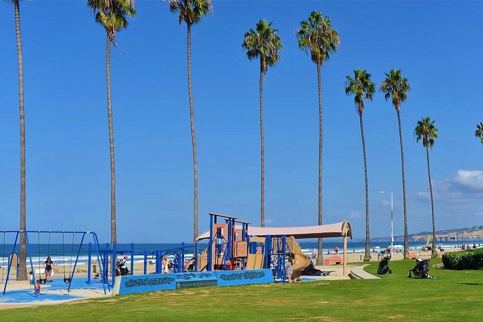 Kellogg park at La Jolla Shores