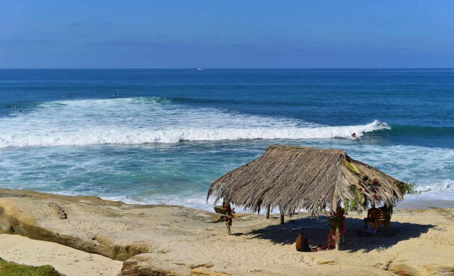 Surf break at Windansea Beach