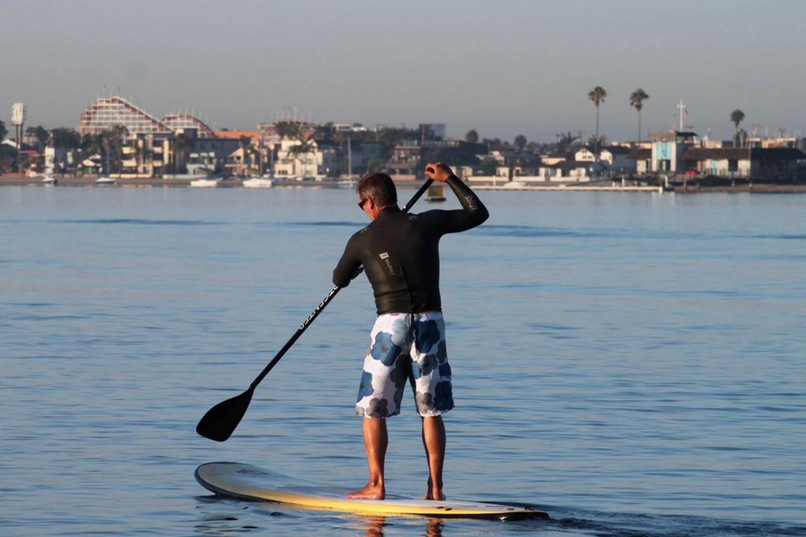 Mission Bay San Diego Paddle boarding