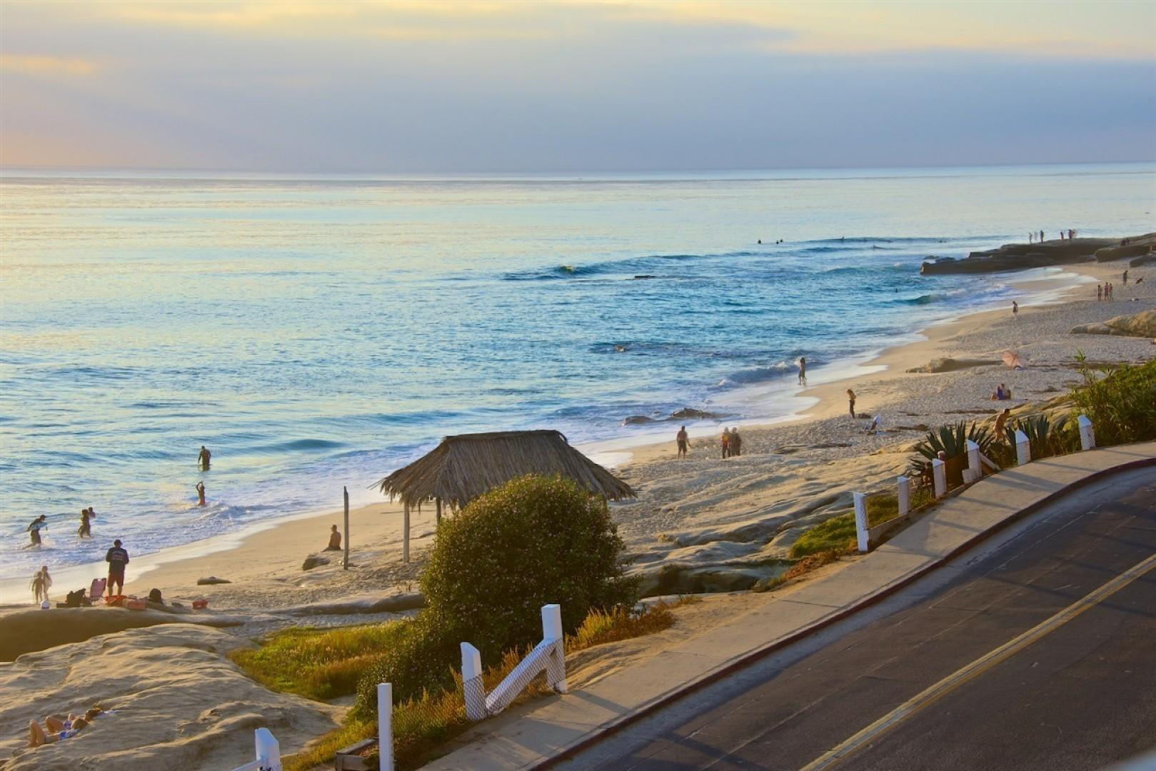 The famous Windansea Surf Shack