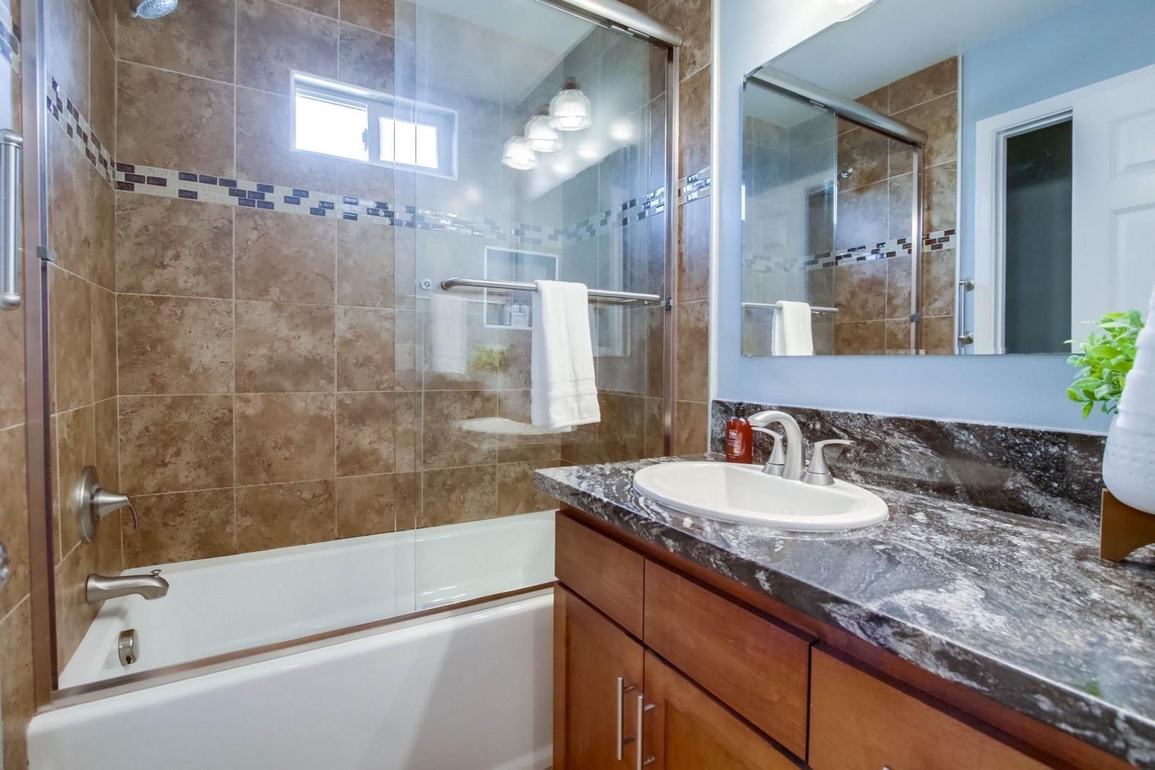 2nd level hall bathroom