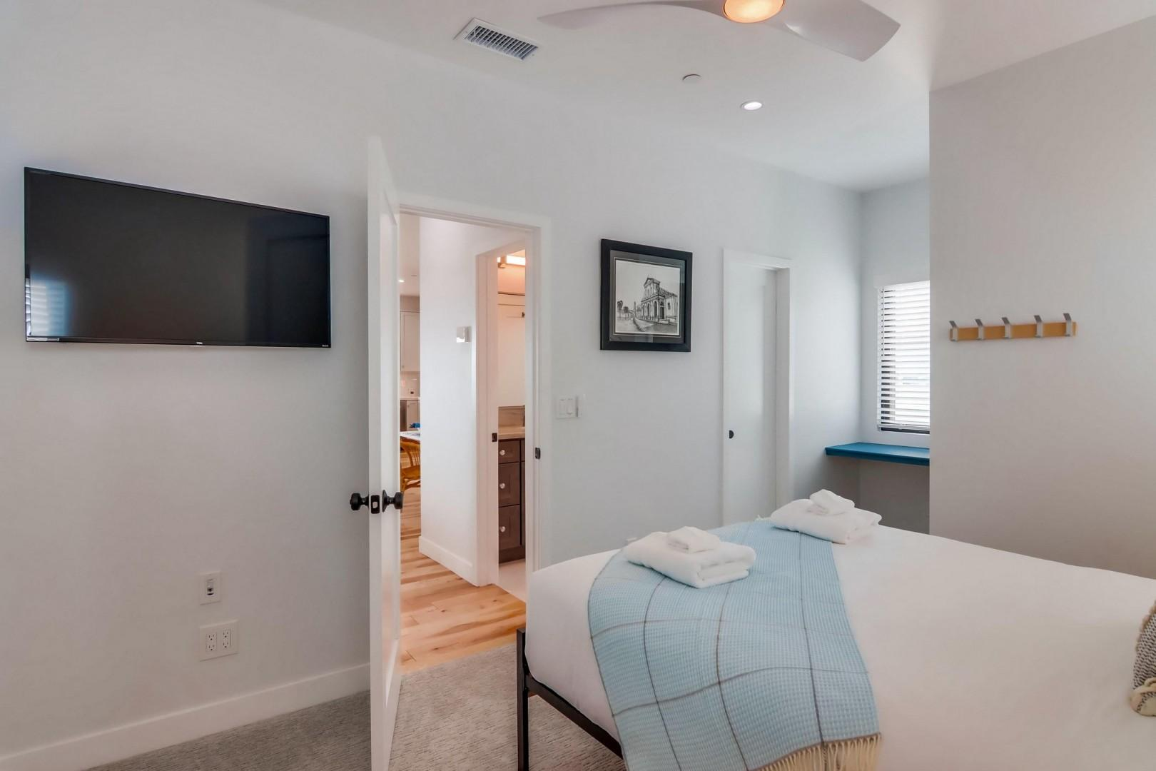 Bedroom Suite with TV and bathroom