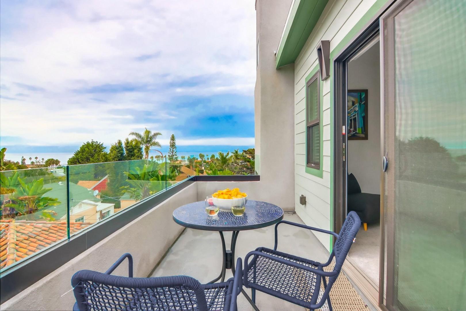 Bedroom 2 ocean view balcony
